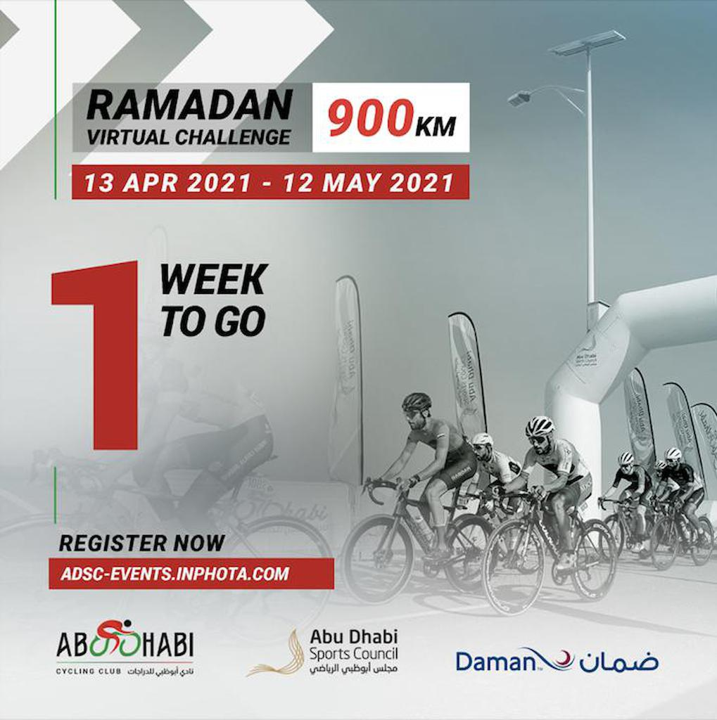 Ramadan 900 Cycling Challenge gallery photo