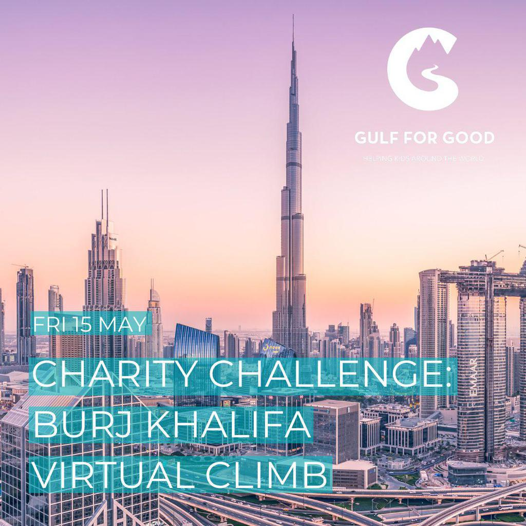 Charity Challenge: Burj Khalifa Virtual Climb gallery photo
