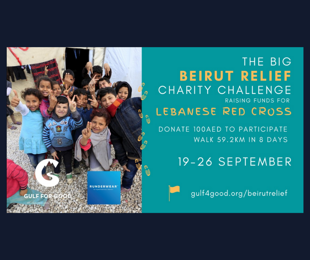 Gulf for Good - Virtual Lebanese Mountain Trail: The Big Beirut Relief Challenge gallery photo