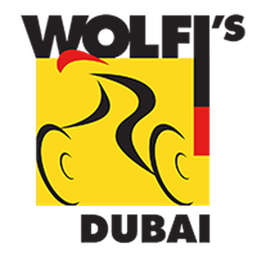 Wolfi's Bike Shop logo