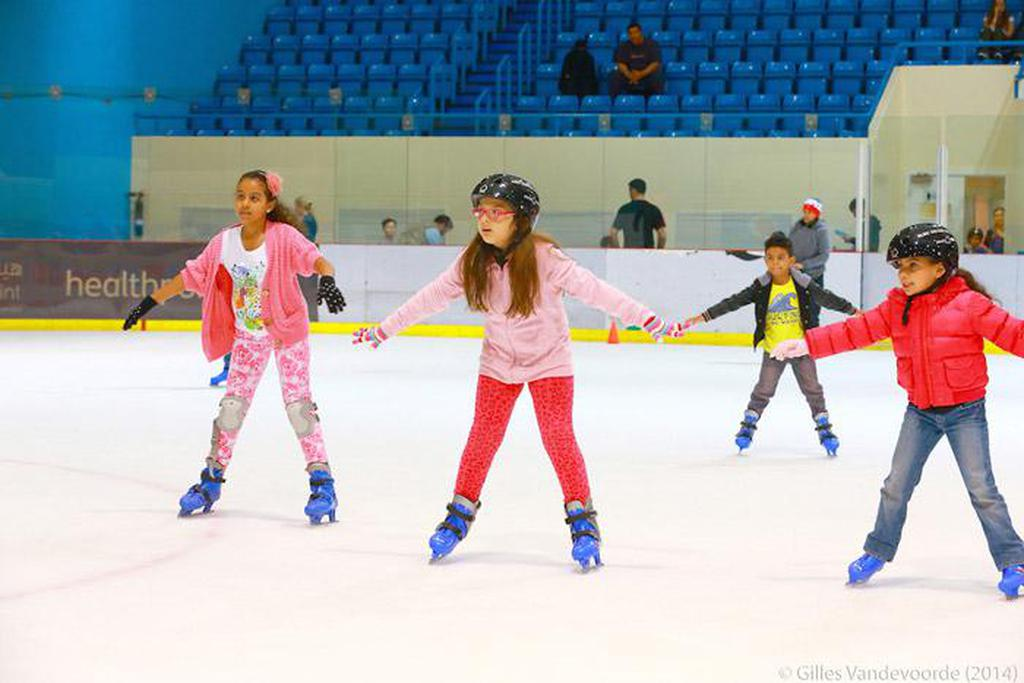 Free ice skating session at Zayed Sports City Ice Rink image #1
