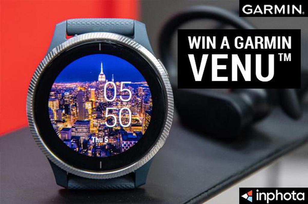 October Garmin competition: Win a Garmin Venu Smartwatch image #1