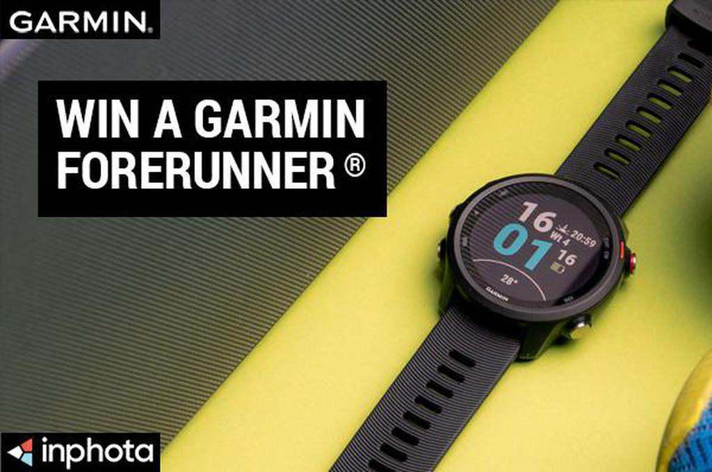 October Garmin competition: Win a Garmin Forerunner 245 Sports watch image #1