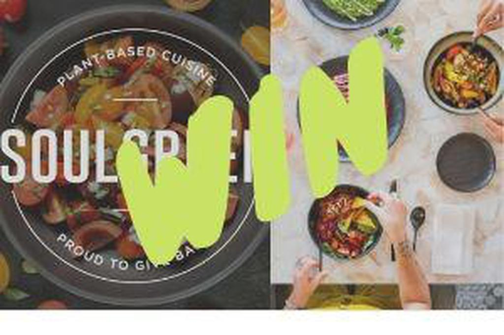 Win a dinner for 2 at Soulgreen image #1
