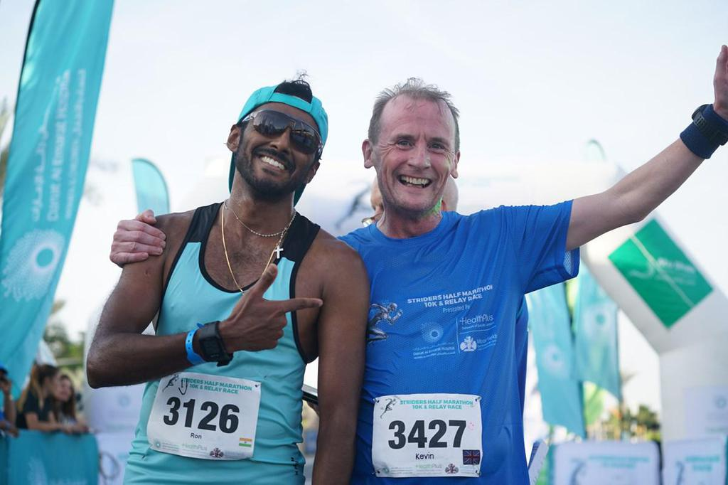 20% off entry to the 2020 Abu Dhabi Striders Half Marathon image #1
